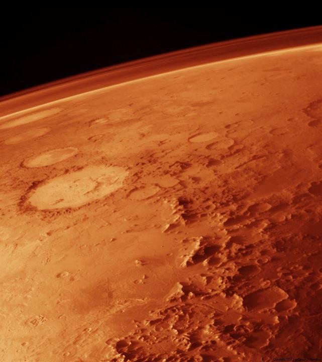 Marte fue un lugar húmedo
