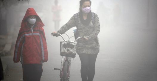 Aire contaminado cambia la expresión genética de las neuronas