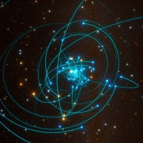 Test mide desplazamiento causado por el campo gravitatorio de un agujero negro