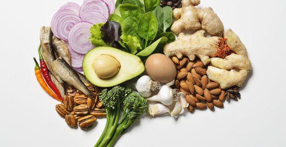 Cerebro y memoria sana con alimentación balanceada
